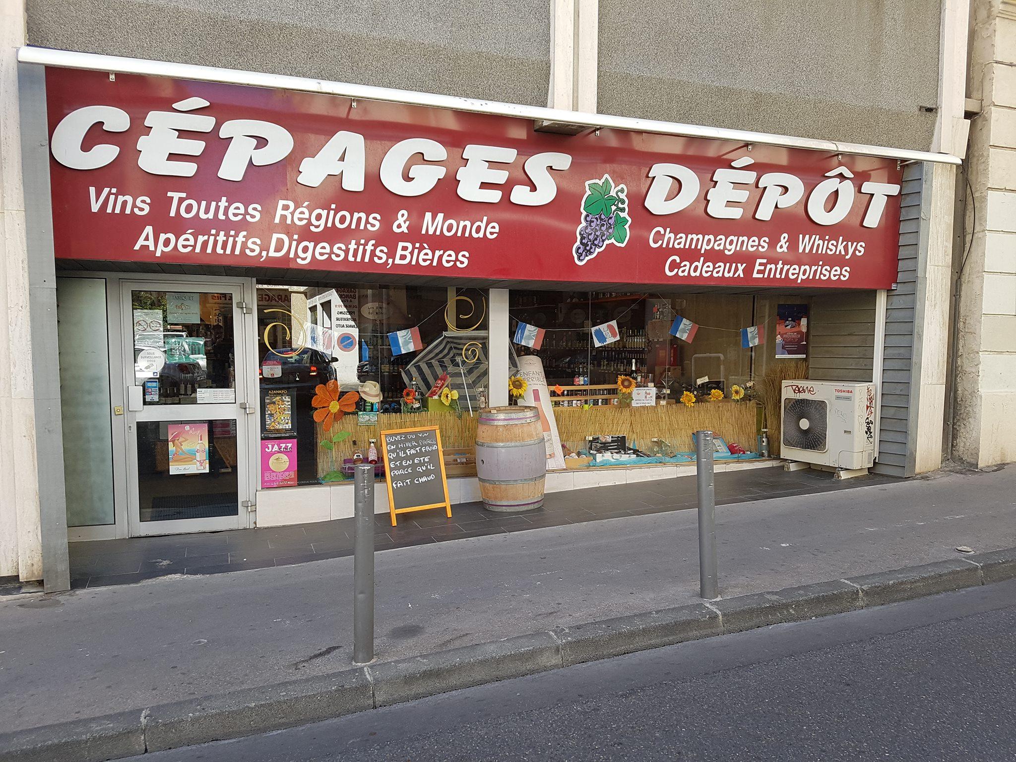 Cépages Dépôt Marseille